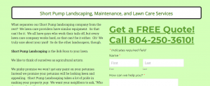 Short Pump Lawn Care